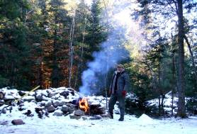 phss6-02-20061208 DK at Sunset Campfire