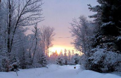 phss6-08-20070302 Sunset After Snowstorm 1