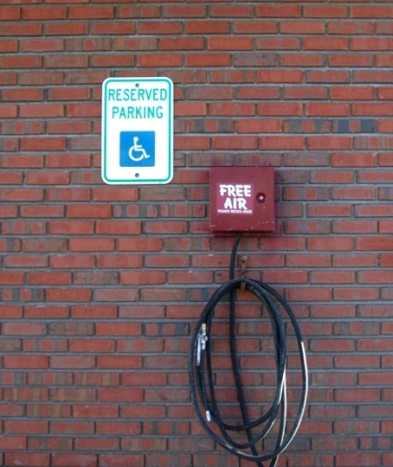 Free Air Reserved Parking sm