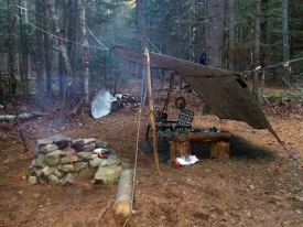 Tettegouche Campsite